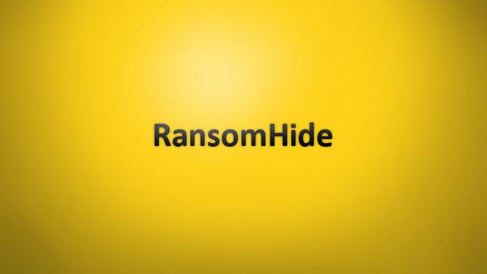 RansomHide