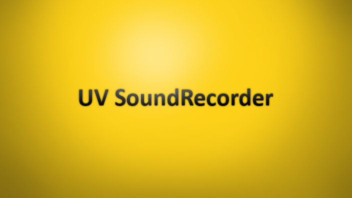 UV SoundRecorder
