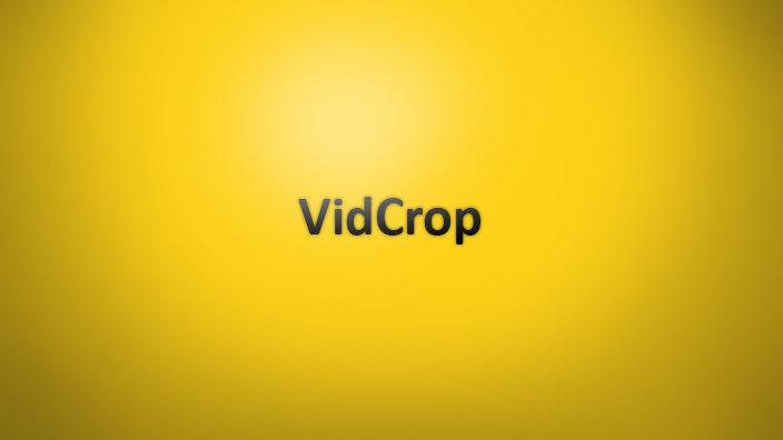 VidCrop